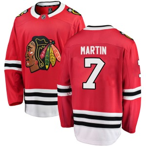 Pit Martin Chicago Blackhawks Fanatics Branded Breakaway Home Jersey (Red)