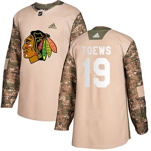 Jonathan Toews Chicago Blackhawks Adidas Youth Authentic Veterans Day Practice Jersey (Camo)