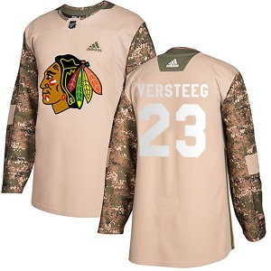 Kris Versteeg Chicago Blackhawks Adidas Youth Authentic Veterans Day Practice Jersey (Camo)